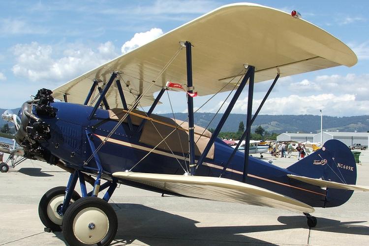 1929 Travel Air, Model 4-D - NC689K - American Barnstormers Tour