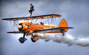 Biplane Stunts of Al Wilson